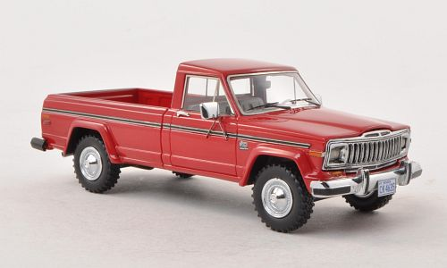 1:43 Jeep J10 Pick Up, red 1:43