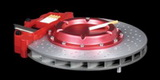 BRAKE DISC ASHTRAY, ASCHENBECHER ROT