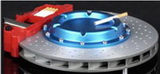 BRAKE DISC ASHTRAY, ASCHENBECHER BLAU