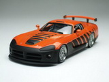 1:43 DODGE VIPER COMPETITION COUPE ORANGE GO MAN GO
