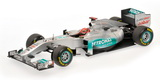 1:18 MERCEDES F1 SHOWCAR 2011 M.SCHUMACHER