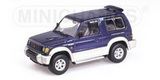 1:43 MITSUBISHI PAJERO SHORT WB 1991 BLUE METALLIC