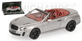 1:43 BENTLEY CONTINENTAL SUPERSPORTS CABRIOLET - 2010 - GREY METALLIC