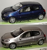 1:87 RENAULT CLIO 3 HO 2 COLOURS COFFRET