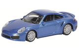 1:64 Porsche Turbo 991, blue