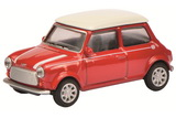 1:64 Mini Cooper, red/white