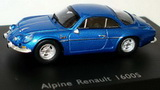 1:87 ALPINE RENAULT 1600 S 1970 BLUE METALLIC
