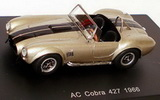 1:87 AC COBRA 427 1966 GOLD / BLACK STRIPES