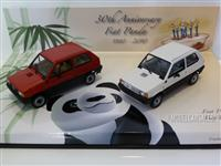 1:43 FIAT PANDA 30th ANNIVERSARY DOUBLE SET